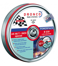 DISCO DRONCO AS46T INOX 230X1,90X22,2PACK