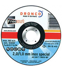 DISCO DRONCO AS60T INOX 115X2/1X22,2PACK