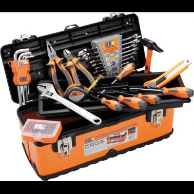 Caja de herramientas metalica hr con 59 piezas - Caja con herramientas ...