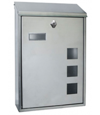 BUZON LISBOA-6 INOX MATE VERTICAL