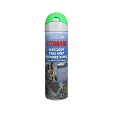 SPRAY MARCADOR ECOMARK VERDE CRC 500ML