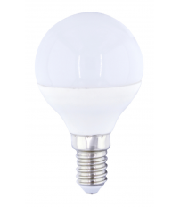 Lámpara esférica Led E14 4W 3000°K 320Lm 45x79mm. GSC (2001553)