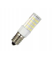 Lámpara tubular Led E14 5W 6500°K 400Lm 360° 18x57mm. (Electro DH 81.598/5/DIA)