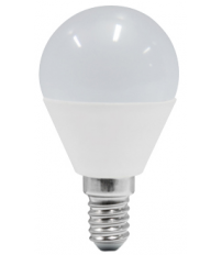 Lámpara esférica Led E14 5,5W 4000°K 470Lm 45x79mm. (Duralamp S40NB)