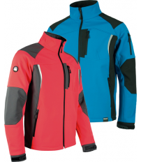 CHAQUETA WORKSHELL S9495 CELES/NGR T-L