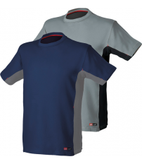 CAMISETA STRETCH AZUL/GRIS TALLA XL