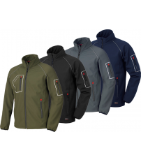 CAZADORA SOFTSHELL JUST NGR 4515NN T-S