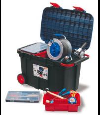 Caja de herramientas m vil - Baules con ruedas ...