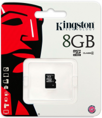 Tarjeta de memoria Micro SD 8GB (Kingston SDC4/8GBSP)