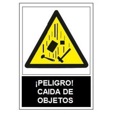 55aec1c71979 SEÑAL ADV.PELIGRO CAIDA OBJETOS SA1017 > ropa de trabajo > señalización