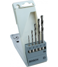 SET BROCAS BOSCH UNEO MADERA HEX.2-3-4-5-6