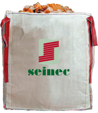 SACO BIG BAG 90X90X90 1000KG BLANCO