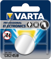 PILA BOTON LITIO CR2450 3V VARTA