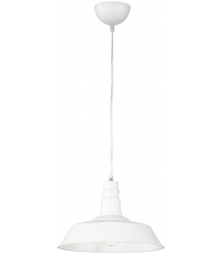 Lámpara colgante modelo Will blanco E27 (Trio Lighting R30421001)