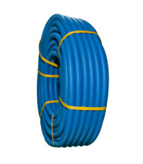 10m. Tubo fontcal saniflex 19mm. Azul