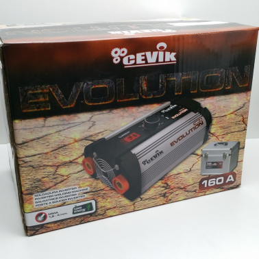SOLDADOR INVERTER CEVIK EVOLUTION 20X 160A Y MALETIN